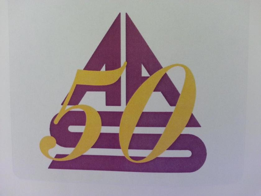 AAS 50 Sticker