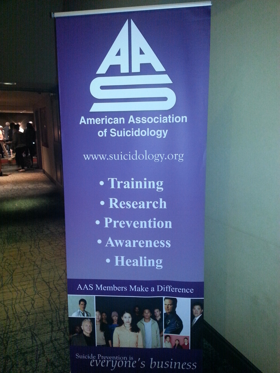 AAS Stand-Up Banner