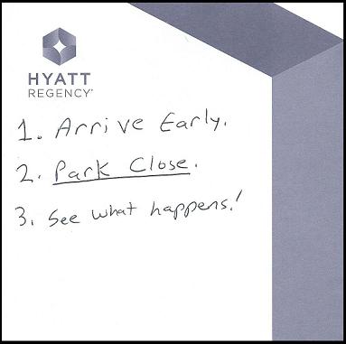 Hyatt Regency Notepad-70%